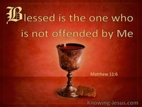 The Blessedness of the Unoffended
